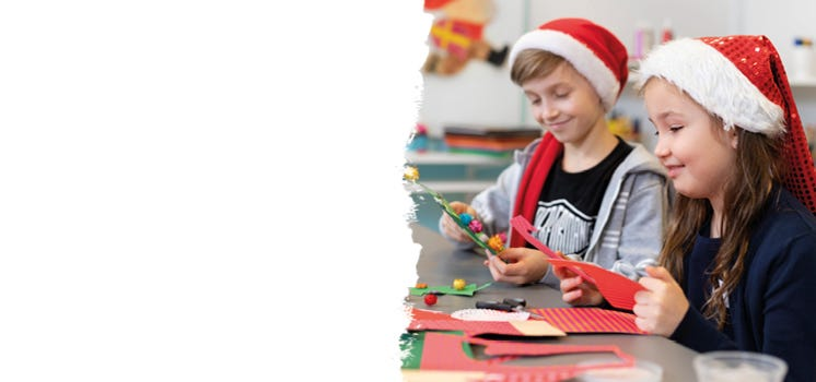 Jouluaskartelua lapsille