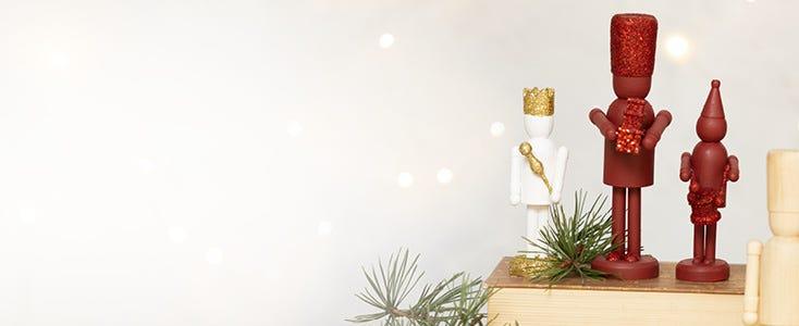 Joulukoristeita pähkinänsärkijästä