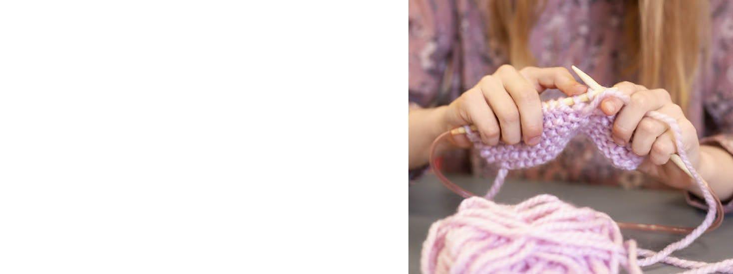 Ompelua ja kutomista lapsille