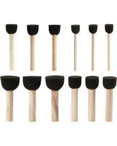Tuputussiveltimet, halk. 13-20-25-35 mm, 12 kpl/ 1 pkk
