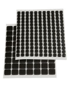 Tarratyynyt 3L, koko 5x5x2 mm, musta, 217 laj/ 1 pkk