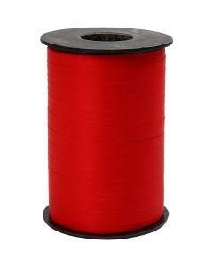 Lahjanauha, Lev: 10 mm, matt, punainen, 250 m/ 1 rll