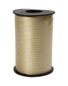 Lahjanauha, Lev: 10 mm, matt, kulta, 250 m/ 1 rll