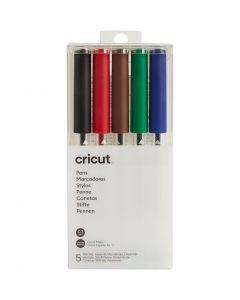 Cricut Explore/Maker erittäin ohutkärkisten kynien setti (perusvärit), 5 kpl/ 1 pkk