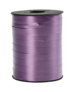 Lahjanauha, Lev: 10 mm, kiiltävä, violetti, 250 m/ 1 rll