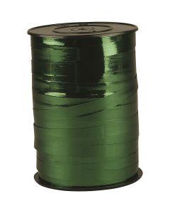 Lahjanauha, Lev: 10 mm, kiiltävä, metallivihreä, 250 m/ 1 rll