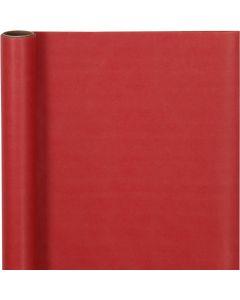 Lahjapaperi, Lev: 50 cm, 60 g, punainen, 5 m/ 1 rll