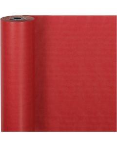 Lahjapaperi, Lev: 50 cm, 60 g, punainen, 100 m/ 1 rll