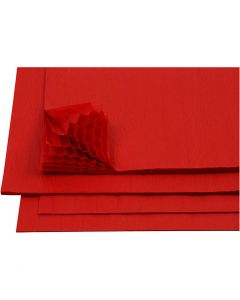 Kennopaperi, 28x17,8 cm, punainen, 8 ark/ 1 pkk
