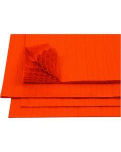 Kennopaperi, 28x17,8 cm, oranssi, 8 ark/ 1 pkk
