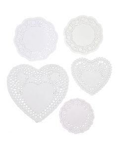 Kakkupaperit, koko 9-14,5 cm, 5x80 kpl/ 1 pkk