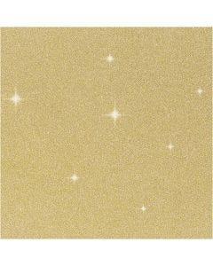 Kimallekalvo, Lev: 35 cm, paksuus 110 my, kulta, 2 m/ 1 rll
