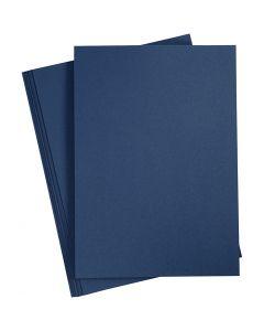 Paperi, A4, 210x297 mm, 110 g, sininen, 20 kpl/ 1 pkk