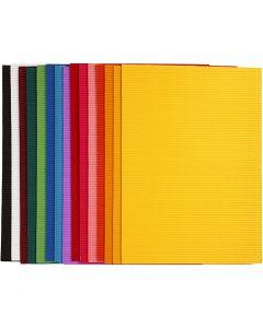 Aaltokartonki, 25x35 cm, 80 g, 15 laj/ 1 pkk