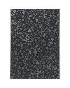 Paperi, A4, 210x297 mm, 80 g, musta, 20 ark/ 1 pkk