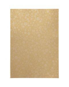 Paperi, A4, 210x297 mm, 80 g, kulta, 20 ark/ 1 pkk