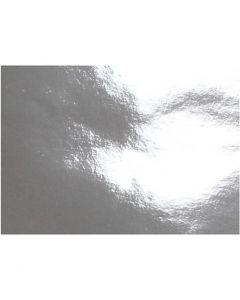 Metallipaperi, A4, 210x297 mm, 120 g, hopea, 100 ark/ 1 pkk