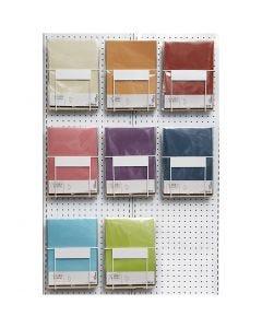 Kuultopaperi, A4, 210x297 mm, 100 g, värilajitelma, 8x10 pkk/ 1 pkk
