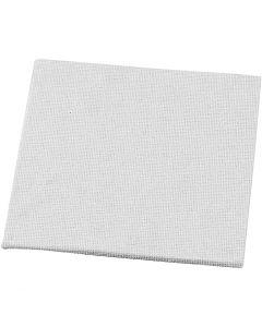 Maalauslevy, koko 10x10 cm, 280 g, valkoinen, 1 kpl
