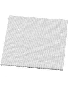 Maalauslevy, koko 10x10 cm, 280 g, valkoinen, 10 kpl/ 1 pkk