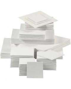 Maalauslevy, 280 g, valkoinen, 110 kpl/ 1 pkk