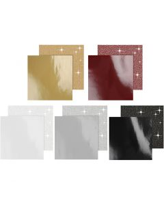Kuviopaperi, 120+128 g, 5x10 pkk/ 1 pkk