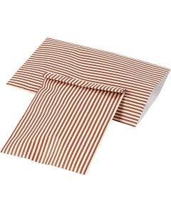 Paperipussi, Kork. 21 cm, Lev: 11,5 cm, 80 g, 12 kpl/ 1 pkk