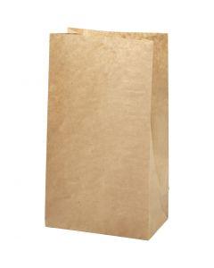Paperipussi, koko 15x9x27 cm, 50 g, ruskea, 100 kpl/ 1 pkk