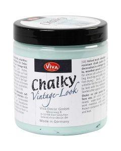 Chalky Vintage Look -maali, aqua (703), 250 ml/ 1 tb