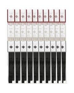 Paperisuikaleet, halk. 6,5+11,5 cm, Lev: 15+25 mm, 3x10 pkk/ 1 pkk