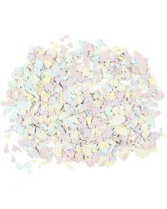 Terrazzo hiutaleet, pastellivärit, 90 g/ 1 tb