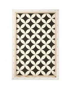 ArtistLine taulupohjat, syvyys 1,7 cm, koko 40x60 cm, 360 g, valkoinen, 1 kpl