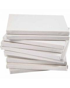 Taulupohjat, A5, koko 14,8x21 cm, 280 g, valkoinen, 80 kpl/ 1 pkk