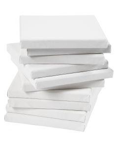 Taulupohjat, syvyys 1,6 cm, koko 20x20 cm, 280 g, valkoinen, 80 kpl/ 1 pkk