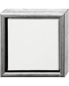 ArtistLine taulupohjat, koko 19x19 cm, antiikkihopean väris, valkoinen, 1 kpl