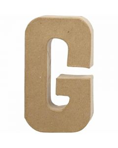 Kirjain, G, Kork. 20,5 cm, Lev: 11,5 cm, paksuus 2,5 cm, 1 kpl