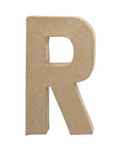 Kirjain, R, Kork. 20,5 cm, Lev: 11,7 cm, paksuus 2,5 cm, 1 kpl