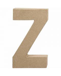 Kirjain, Z, Kork. 20,2 cm, Lev: 11,2 cm, paksuus 2,5 cm, 1 kpl