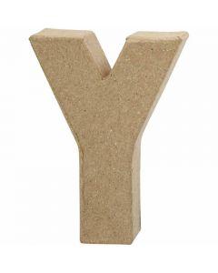 Kirjain, Y, Kork. 10 cm, Lev: 7,9 cm, paksuus 1,7 cm, 1 kpl
