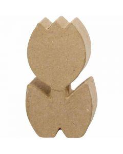 Tulppaani, Kork. 19 cm, syvyys 3 cm, 1 kpl