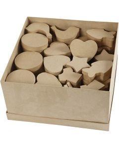 Pahvirasialajitelma, koko 6-11 cm, 7x9 kpl/ 1 pkk