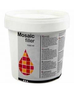 Mosaiikkimassa, valkoinen, 1000 ml/ 1 prk