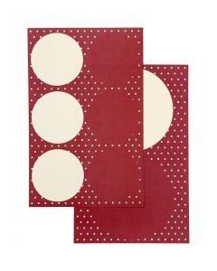 Tarrat, halk. 4+6,5 cm, 9x14 cm, 4 laj/ 1 pkk