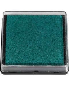 Leimasintyyny, koko 40x40 mm, vihreä, 1 kpl