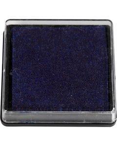 Leimasintyyny, koko 40x40 mm, tummansininen, 1 kpl
