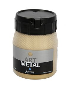 Art Metal maali, light gold, 250 ml/ 1 pll