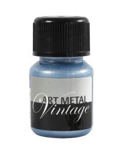 Askartelumaali metallic, Helmiäissininen, 30 ml/ 1 pll