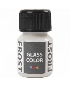 Glas Color Frost huurremaali, valkoinen, 30 ml/ 1 pll
