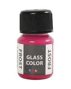 Glas Color Frost huurremaali, punainen, 30 ml/ 1 pll