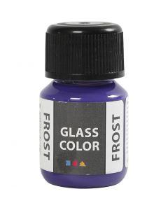 Glas Color Frost huurremaali, violet, 30 ml/ 1 pll